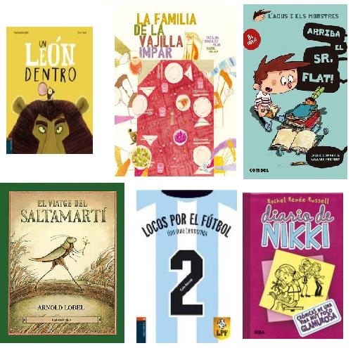 Cobertes de llibres infantils novetat estiu 2018