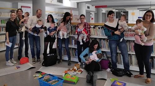 Visita bblioteca bebés