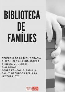 Guia de lectura Biblioteca de famílies
