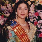 Fallera Major 2003. Leticia Álvarez i García
