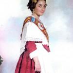 Fallera Major Infantil 1988. María Dolores Gallego i Muñoz