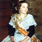 Fallera Major Infantil 1989. Maite Comes i Fernández