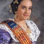 Fallera Major Infantil 1993. Verónica Grado i Trena