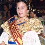 Fallera Major Infantil 2000. Sara Sáez Carreño
