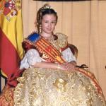 Fallera Major Infantil 2002. Paula Sanchis i Mengod