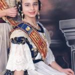 Fallera Major Infantil 1995. Asunción Legua i Pardo