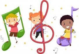 Els xiquets i la música.