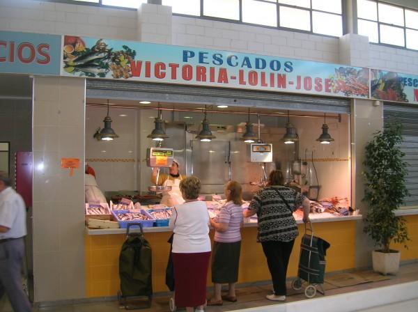Pescados frescos y congelados Victoria, Lolin y Jose
