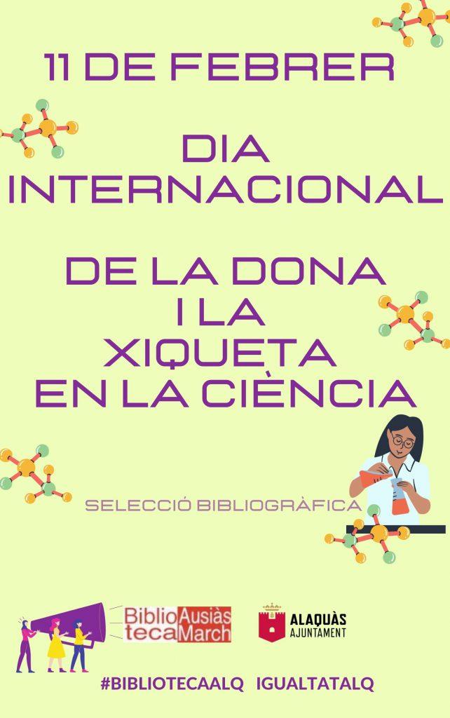 cartell dia xiqueta i dona ciència