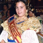 Fallera Major Infantil 2000. Sara Sáez Carreño