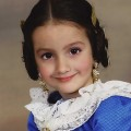 Fallera Major Infantil. Falla Cervantes. Zoe Alas Salon